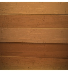 Texture of Wooden planks vector image vector image