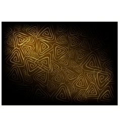 Brown vintage wallpaper with triangle spiral vector