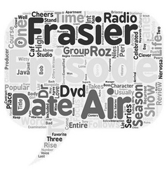 Frasier season 3 dvd review text background vector