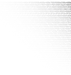 Black and white security background with HEX-code vector image