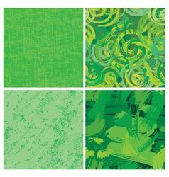 circle seamless green 380 vector image
