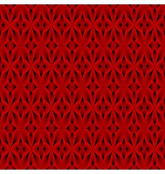 Design seamless red decorative pattern vector