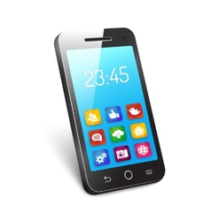 Mobile phone or smartphone vector