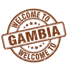 Welcome to gambia vector