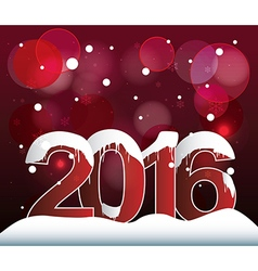 2016 lights bokeh background vector