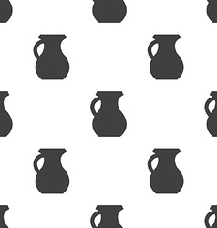 Pitcher seamless pattern vector