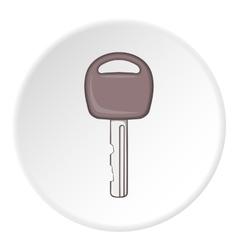 Car key icon cartoon style vector image