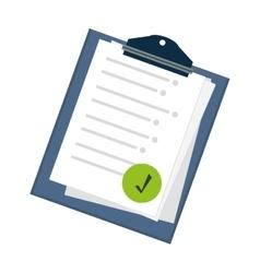 Checklist icon image vector