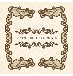 Design Elements set 3 vector image vector image
