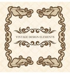 Design Elements set 3 vector image