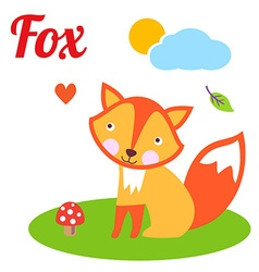 FoxLetter vector image