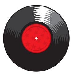lp record vector image