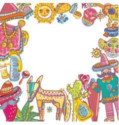 Mexico collection vector