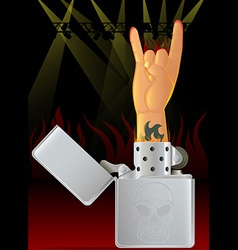 Concert lighter vector