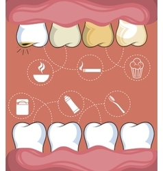 Dental healthcare equipment icon vector