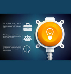Business infographic design concept vector