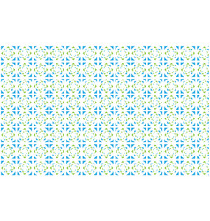 a pattern of colored triangles on a white vector image vector image