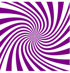 Abstract swirl background from twisted spiral rays vector