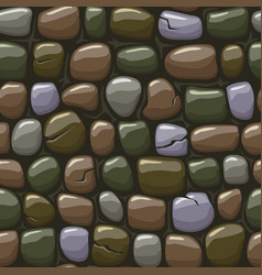 Colored old stone texture seamless vector
