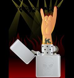 Concert Lighter vector image vector image
