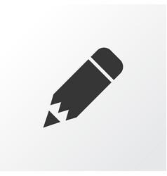 edit icon symbol premium quality isolated pencil vector image vector image