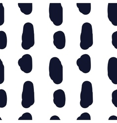 Hand drawn seamless indigo irregular spot texture vector