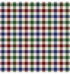 Textured colored cloth in small squares seamless vector