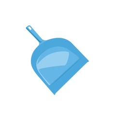 Dustpan blue dustpan isolated vector