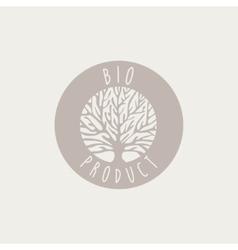 Bio Product Label vector image