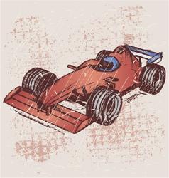 Formula 1 race vector image