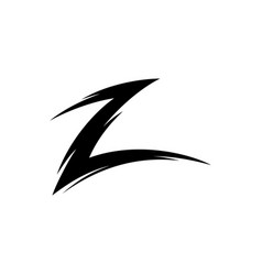 letter-z vector image vector image