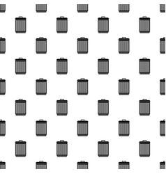 Trashcan pattern vector