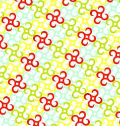 Pinwheels pattern vector image