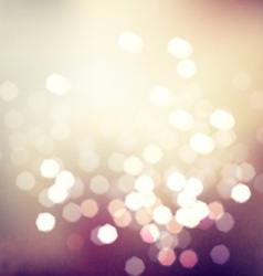 Bokeh light vintage background eps10 vector