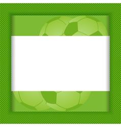 football border background vector image