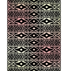 Aztec tribal mexican pattern vector