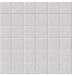 Marble ceramic tile gray floor seamless pattern vector