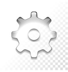 settings vector image