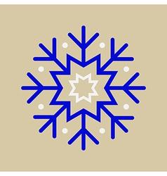 Snowflake Ornament vector image vector image
