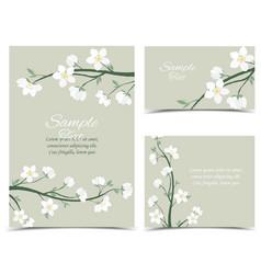Spring blossom vector