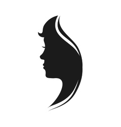 Woman icon human head design graphic vector