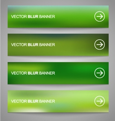 Blurred banners 2 vector