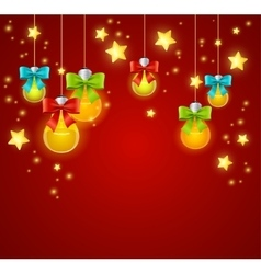Xmass or holiday background vector