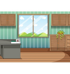 Firstaid tray in the room vector image