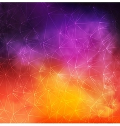 Abstract Colorful Smoky Background with vector image