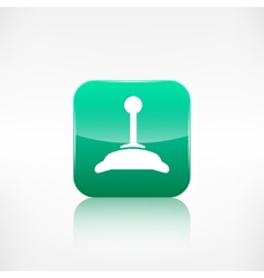 Joystick web icon vector