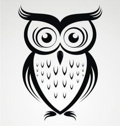Owl bird clip art vector