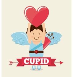 Cupid cute vector