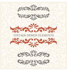 Design Elements set 6 vector image vector image