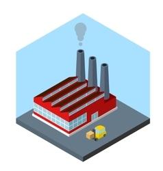 Isometric factory vector